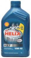 Моторное масло SHELL Helix HX7 10W-40, 1л