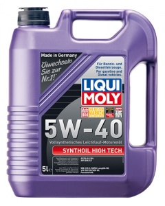 Моторное масло LIQUI MOLY Synthoil High Tech 5W-40, 5 л (1925)