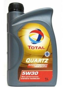 TOTAL QUARTZ 9000 ENERGY HKS G-310 5W-30, 1 л (175392)