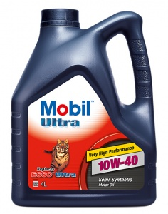 Моторное масло Mobil Ultra 10W-40, 4 л