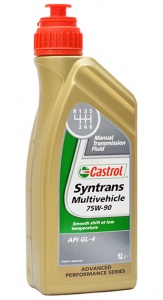 Castrol Syntrans Multivehicle 75w-90 масло транс. 1 л.